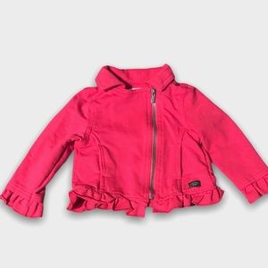 Hot Pink Calvin Klein Jeans Zip Up Jacket